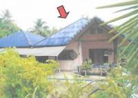 บ้านเดี่ยวหลุดจำนอง ธ.ธนาคารอาคารสงเคราะห์ เขาพัง บ้านตาขุน สุราษฎร์ธานี