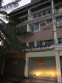 ตึกแถวหลุดจำนอง ธ.ธนาคารกรุงศรีอยุธยา ตลาด เมืองสุราษฎร์ธานี จังหวัดสุราษฎร์ธานี
